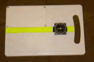 навигационная панель для подводного ориентирования